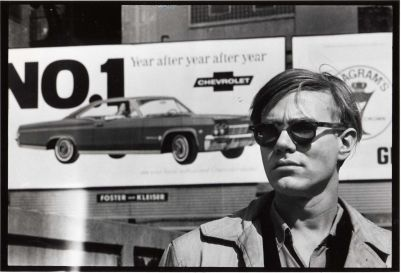 David McCabe, Andy Warhol -Chevy Sign, collectie Hugo and Carla Brown