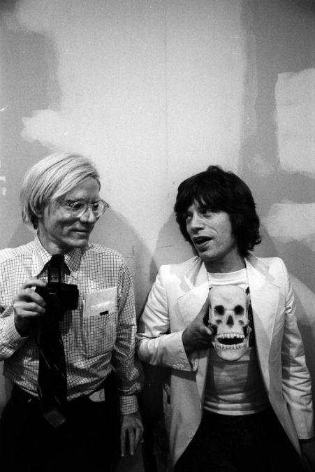 Andy & Mick Jagger