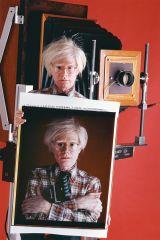 """Andy & his """"selfie"""" polaroid"""