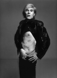 Andy Warhol & his scars
