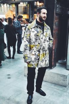 Wearing Dries Van Noten