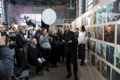 WOMEN: New Portraits by Annie Leibovitz, commissioned by UBS. ewz-Unterwerk Selnau, 28 January - 19 February 2017 photo by Martin RŸtschi