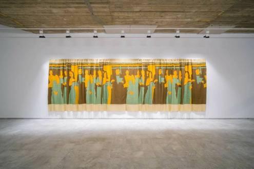 *Decoración de interiores* (Interior decoration, 1981) Beatriz González