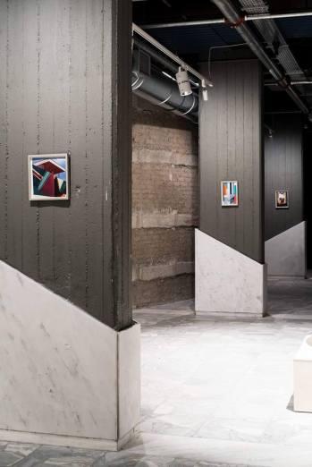 *Fantasias* (2016–17) Twelve collages Elisabeth Wild