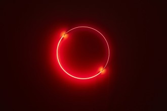 Christian Herdeg Complete Circle, 2017 Neon tubes 32 9:10 in diameter 83.5 cm diameter Editions 1-3 of 3