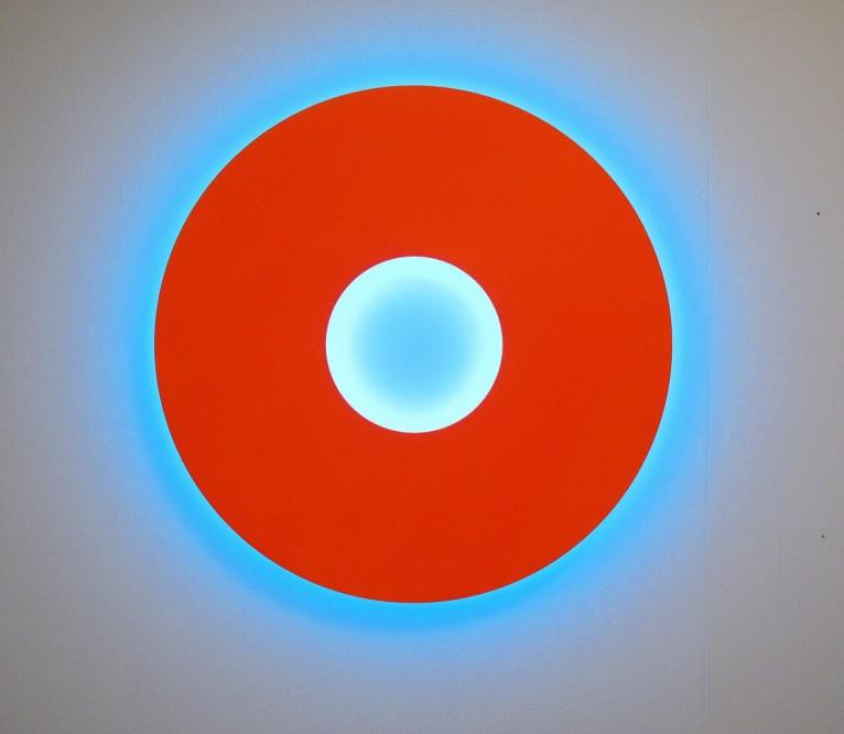 Christian Herdeg - Small Disc Orange : Turchese, 2006
