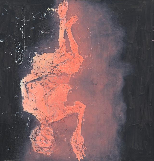 Georg Baselitz. Hotplate fa caldo (Ofenplatte fa caldo), 2015-min