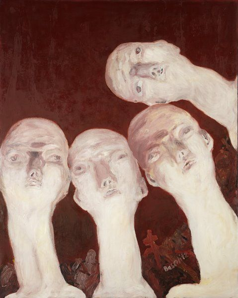 Georg Baselitz, Oberon, 1963