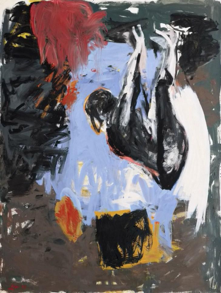 Georg Baselitz,'Die Ährenleserin', 1978