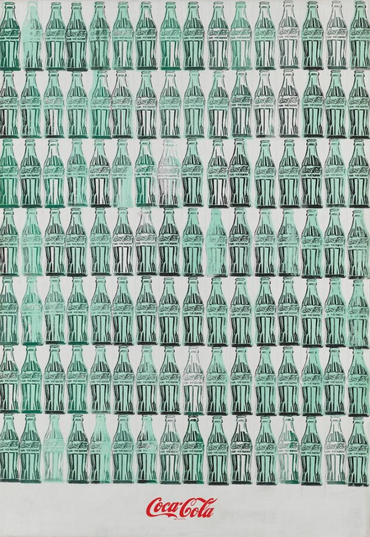 Andy Warhol (1928–1987), Green Coca Cola Bottles, (1962)