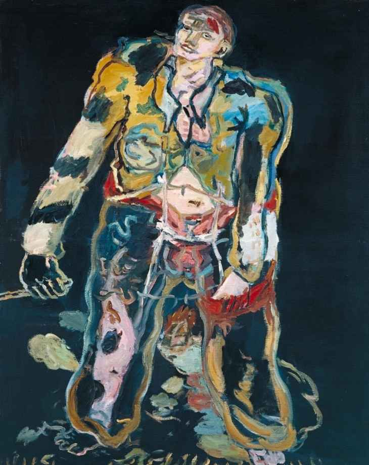 Georg Baselitz,'Rebel',  1965