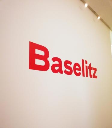 Georg Baselitz Retrospektive Fondation Beyeler.