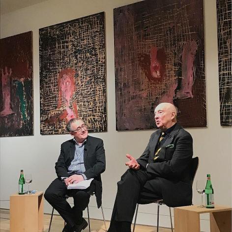 Artist Talks: Kurator Martin Schwander mit Georg Baselitz