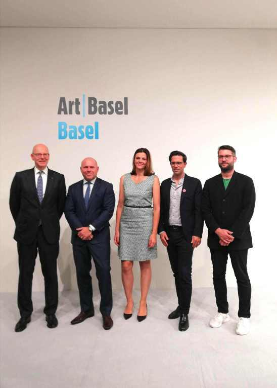 Art Basel Press Conference 2018