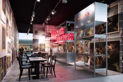 """Vienna"" at the Art Basel collectors lounge"