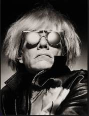 Man portrait black & white Albert Watson, Andy Warhol, New York City 1983