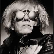 Man portrait black & white Albert Watson, Andy Warhol, New York City 1983