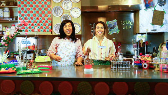 Mary Maggic, Housewives Making Drugs, 2017, video still. Courtesy the artist