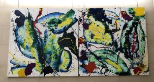 Sam Francis (1923-1994), Sans Titre, 1989, Kunstsammlung AXA GIE Paris