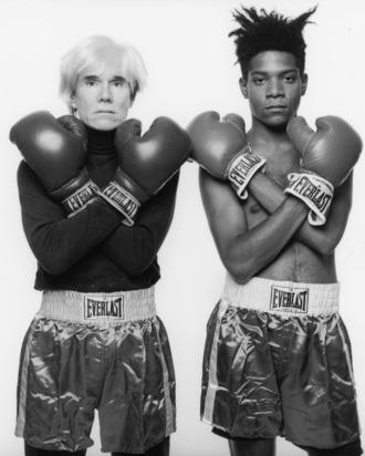 Andy Warhol & Jean-Michel Basquiat