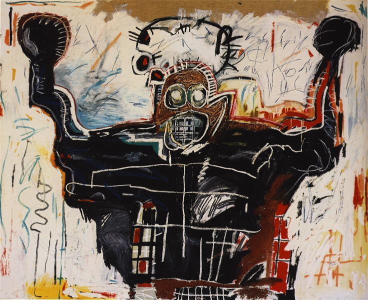 Jean-Michel Basquiat - Boxer, 1982