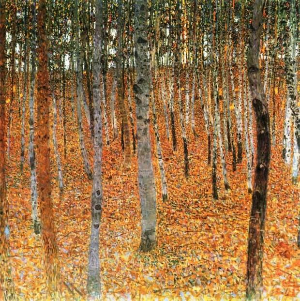Gustav Klimt, Birch Forest I, 1902, private collection