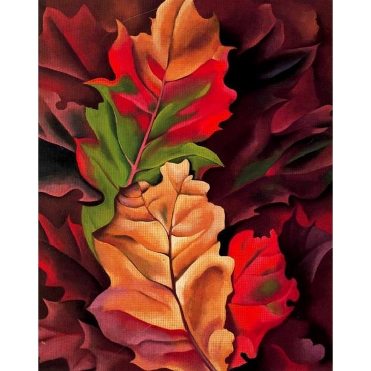 Georgia O'Kefee, Autumn Leaves, 1924, private collection