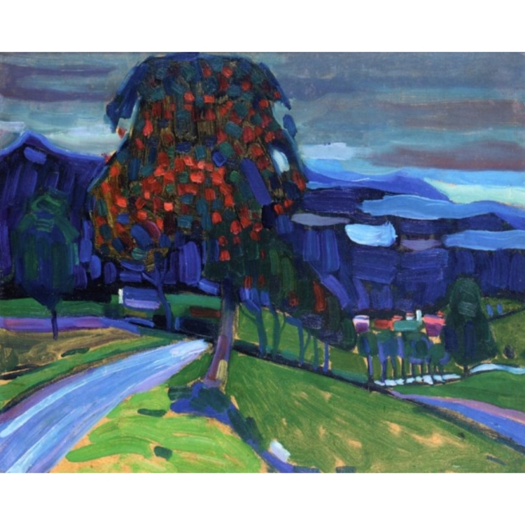 Wassily Kandinsky, Autumn in Murnau, 1908, private collection