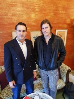Andy meets Julian Charrière