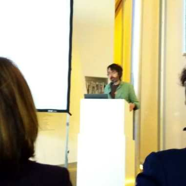 Simon Starling during his Artist Talk at Aargauer Kunsthaus