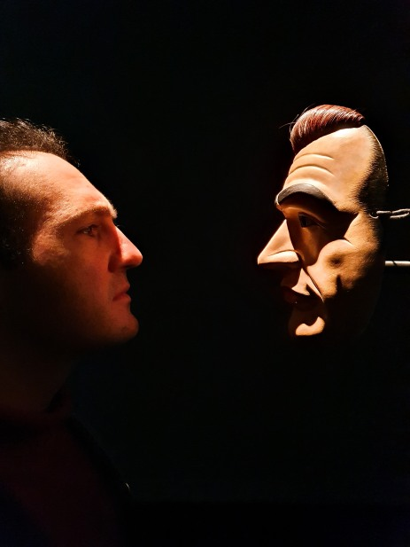 "Andy meets Simon Starling ""Project for a Masquerade (Hiroshima) (2010–2011)"""