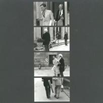 Andy Warhol verlässt das Kunsthaus Zürich 1975-1979 Urheberschaft: Simone Kappeler Bereich: KGSZ, Fachklasse für Fotografie, FF, Zürich, CH (gegründet 1932) Thema: Andy Warhol (US, 1928 - 1987) Vintage-Print ; s/w ; Baryt ; aufgezogen auf Karton Blattgrösse (HxB): 29.5 x 29.5 cm Permalink Archivnummer: BCC-1975-B04-003 Sammlung: Archiv ZHdK