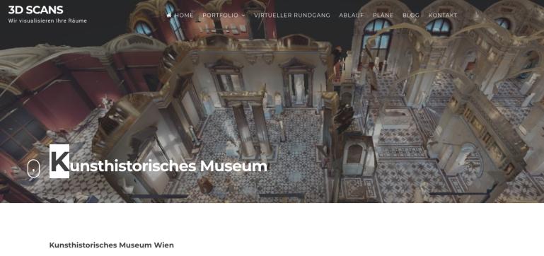 Kunsthistorisches Museum Wien - Virtueller 3D Rundgang