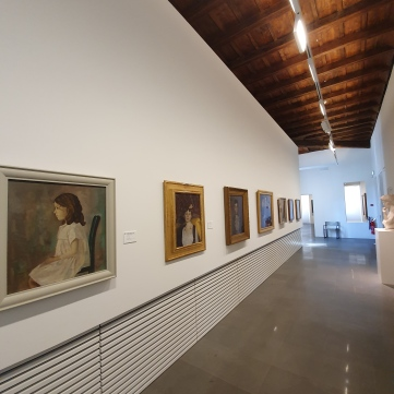 The collection of MASI Palazzo Reali features works of several local artists from the Ticino area.