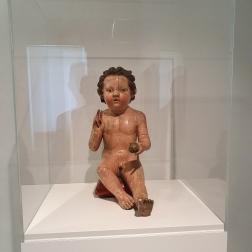 Mariano d' Agnolo Romanelli, Christ Child Blessing, ca. 1385