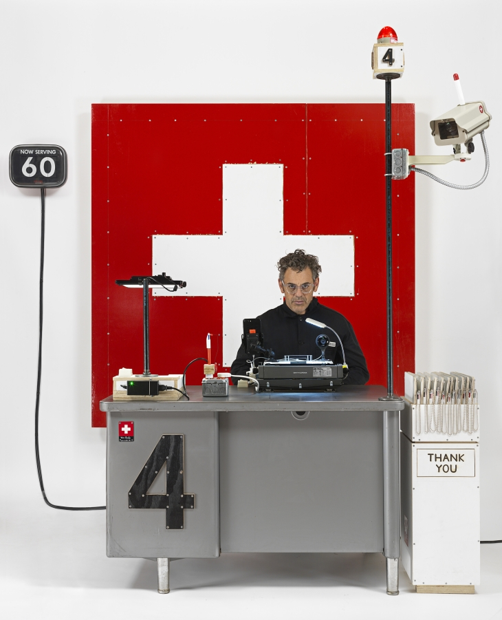 Swiss Passport Office Galerie Thaddaeus Ropac, London October 5 - November 10, 2018